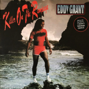 Eddy Grant ‎- Killer On The Rampage (LP) (G++/G++)